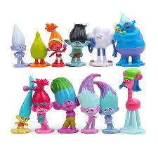 Best Seller <b>12pcs</b>/<b>lot</b> Trolls Action Figure Poppy Branch toy <b>set</b> 2017 ...