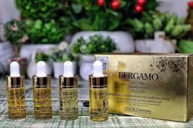 <b>Bergamo Luxury Gold</b> Collagen Ampoule Set Увлажняющий ...