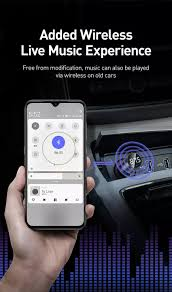 <b>Baseus Energy Column Car</b> Wireless MP3 Charger (Wireless 5.0+ ...