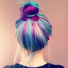Resultado de imagen de pelo morado tumblr
