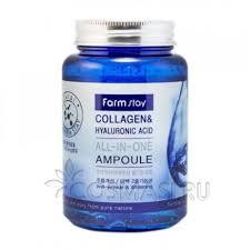 FarmStay <b>Collagen</b> Hyaluronic Acid All-In-One Ampoule: отзывы ...