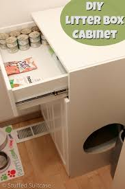 heres how to make a diy litter box furniture cabinet for your cats to help keep cat litter box covers furniture