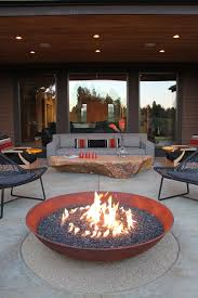 Pretty Landmann Fire Pit Patio With Next Small Backyard Alongside Build Natural Gas And Top Rated