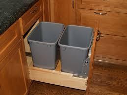 Kitchen Cabinet Garbage Drawer White Kitchen Trash Can Simplehuman Trash Can White Kitchen