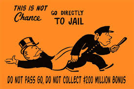 Image result for bankster in jail