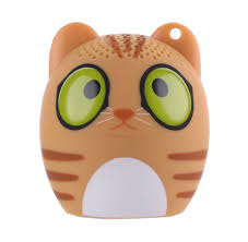 Мини Bluetooth <b>колонка ZDK Kids</b> Cat <b>3W400</b>, 1311, оранжевый ...
