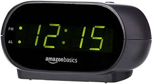 AmazonBasics Small Digital Alarm Clock with ... - Amazon.com