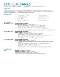 best administrative coordinator resume example livecareer create my resume