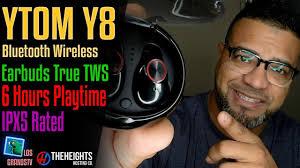 YTom YT8 <b>IPX5 Waterproof</b> Earbuds : LGTV Review - YouTube