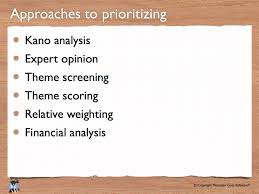 agile development presentations for prioritizing your product backlog