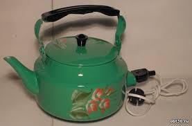 электрический <b>чайник</b> (с металлическим корпусом)