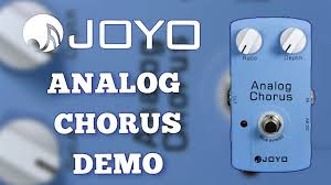 <b>Joyo Analog Chorus JF</b>-<b>37</b> Demo - YouTube