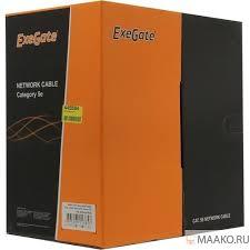<b>Exegate</b> EX281815RUS <b>Кабель Exegate UTP4</b>-<b>C5e</b>-CU-<b>S25-IN</b> ...