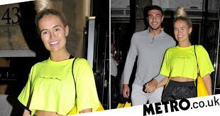 Molly-Mae Hague and Tommy Fury pictured following laughing gas ...