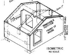 Free Dog House Plans  Peaked Roof  A Frames  Dog Shelters     Free Dog House Plans  Peaked Roof  A Frames  Dog Shelters  Kennels and More