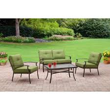 crossman piece outdoor bistro:  awesome mainstays patio furniture mainstays bryant place  piece conversation set green walmart home decorating concept