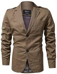 FGYYG <b>Men's Autumn Winter</b> Fashion Slim Single-Breasted Blazer ...