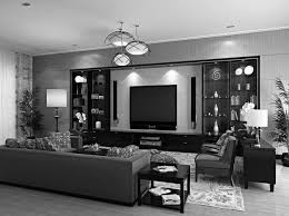 futuristic green living room interior with sofa home black and grey ideas for the brilliant black green living room home