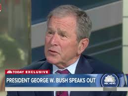 george w bush pushes back on trump s policies business insider
