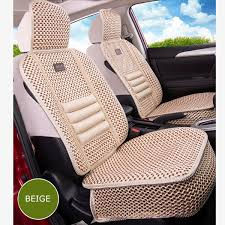 universal car <b>KKYSYELVA 1pcs</b> Front Universal <b>Car seat</b> Summer ...