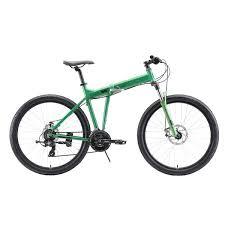 <b>Велосипед Stark</b>'<b>20 Cobra</b> 27.2 D зелёный/чёрный