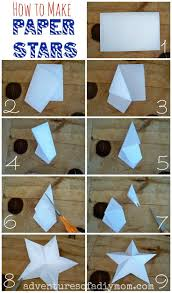 17 best ideas about paper stars origami stars diy adventures of a diy mom how to make 3 d paper stars