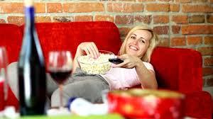 Image result for eating popcorn