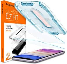 Spigen <b>Tempered Glass Screen</b> Protector [Glas.tR EZ Fit] Designed ...