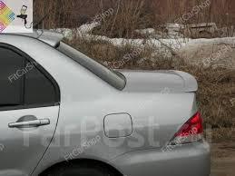 <b>Спойлер на кромку</b> крышки багажника Mitsubishi Lancer 9 - GT и ...