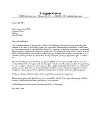 Database Administrator Cover Letter Example