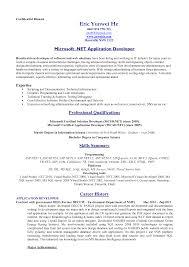 sample of standard resume format resume format  sample