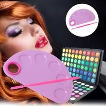 Ручной дизайн ногтей цвет смешивания паллет макияж ...