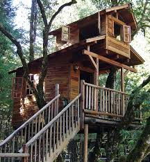Amazing Cool Tree House Ideas   Home Design    tree houses design breezepark sectional buildings tree house