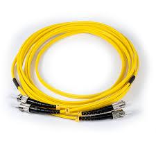 10ft (3m) LSZH <b>Fiber Optic Patch Cord</b> - SM / <b>ST</b>-<b>ST</b> – CommFront