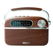 <b>Радиоприемник Hyundai H-PSR200</b>, коричневый — купить в ...