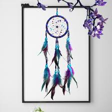 <b>Flying Wind Chimes Dream</b> Catcher Gifts Dream Catcher Purple ...