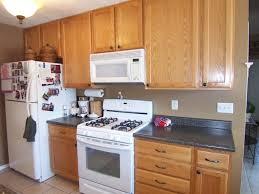 kitchen services oak  kitchen kitchen paint colors with oak cabinets and white appliances f
