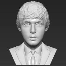 Download 3D printer templates <b>Paul McCartney</b> bust 3D <b>printing</b> ...