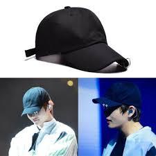 <b>BTS</b> Bangtan Boys Hats V <b>Jimin</b> Fashion Iron Ring Hats Adjustable ...
