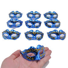 Mini Masquerade Mask <b>Party Decoration</b> - Yiseng <b>10pcs Set</b> Supper ...