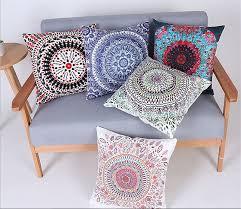 2016 quatrefoil precious stone turquoise cushion vintage luxury throw pillow bohemian decorative vintage cushion coreless bohemian furniture