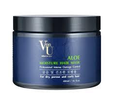 VON-U ALOE <b>Маска</b> для волос <b>увлажняющая с алоэ</b> вера 480 мл ...