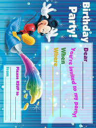 best photos of birthday card blank template birthday card printable mickey mouse invitation template