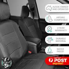 GREY FRONT CAR SEAT COVERS <b>HIGH QUALITY ELEGANT</b> ...