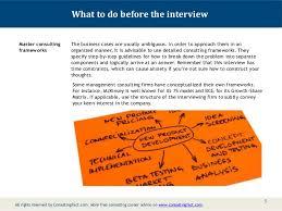 Management Consulting Prep   Management Consulting Prep Wall Street Oasis