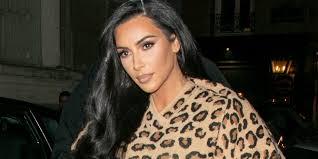 Kim Kardashian wore head-to-toe <b>leopard print</b> in a <b>vintage</b> catsuit ...
