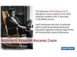 Home of the John F. Kennedy Rocking Chair, the Great Seal Rug ...