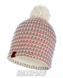 Одежда Зима <b>Buff Шапка Buff Knitted&Polar</b> Hat Dana Multi ...