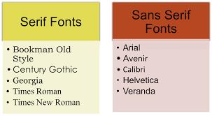 resume font serif vs sans serif sample customer service resume resume font serif vs sans serif choosing a font serif vs sans serif writing spaces serif