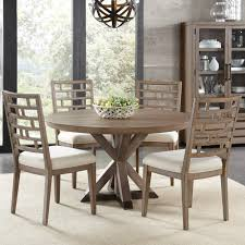 luca dining table features beautiful mirabelle wood round dining table in ecru by riverside furniture